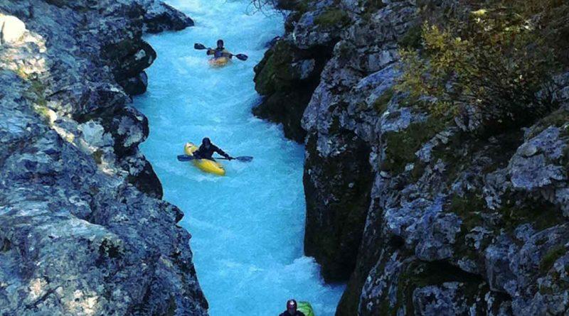 Wildwasser Kayaking